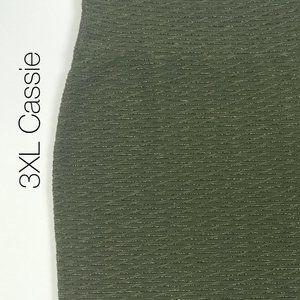 3XL Elegant Cassie LuLaRoe Olive NWT